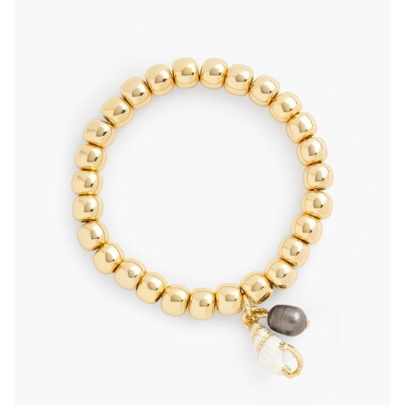 Talbots Jewelry - New Talbots SEASHELL STRETCH BRACELET